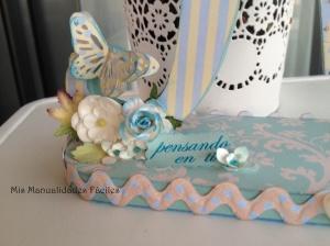 """Bouquet de flores y journaling """"pensando en ti"""""""