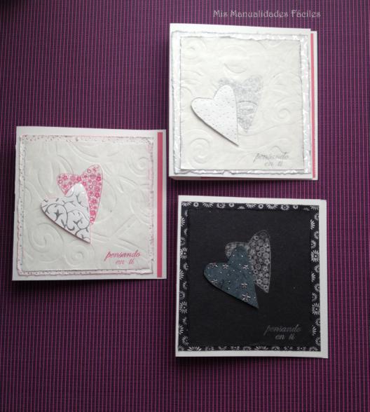 tarjetas corazones