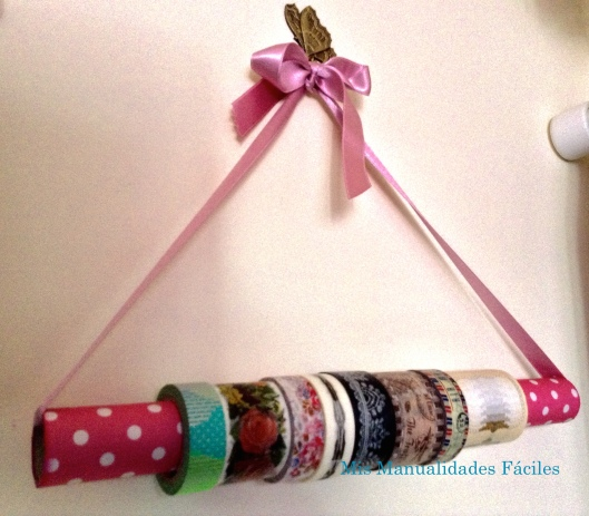 percha washi tape con MA