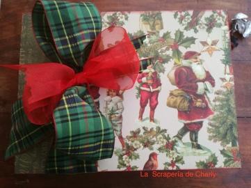 Caja para álbum de Navidad