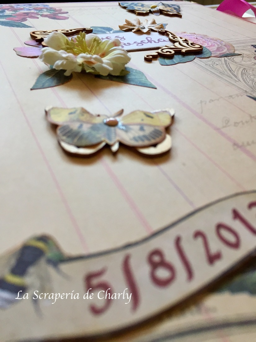 decoración a mano del libro de firmas para bodas