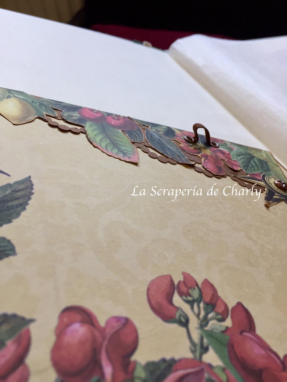 Bolsillo en el interior de portada del libro de firmas de boda.