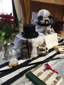 Mesa de firmas para boda
